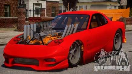 Mazda RX7 Dragster V1.1 для GTA 4