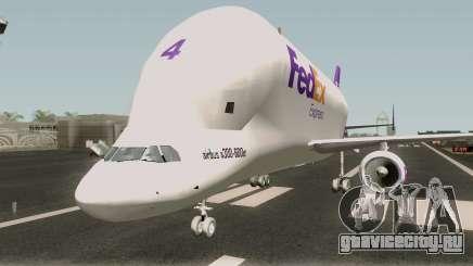 Airbus A300st Beluga FedEx для GTA San Andreas