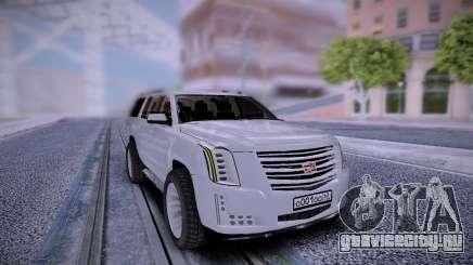 Cadillac Escalade Stock RUS Plates для GTA San Andreas