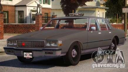 1985 Chevrolet Caprice Taxi для GTA 4