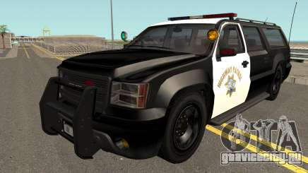 Declasse Granger SAHP Police GTA V IVF для GTA San Andreas