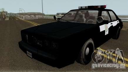 Albany Esperanto Roadcruiser LSPD для GTA San Andreas