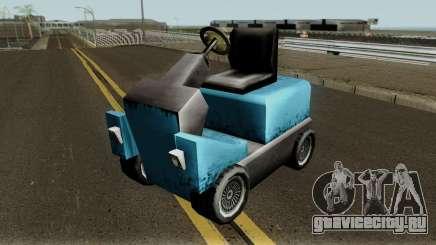 New Caddy для GTA San Andreas