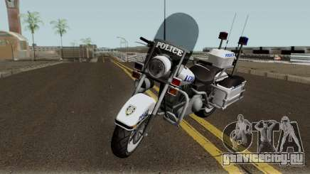 GTA TBoGT Police Bike для GTA San Andreas