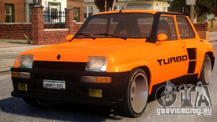 Renault 5 Turbo V2 для GTA 4