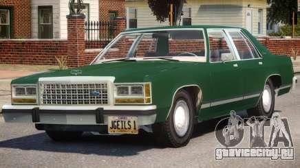 1983 Ford Crown Victoria для GTA 4