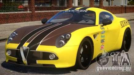 Alfa Romeo 8C PJ для GTA 4