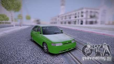ВАЗ 2112 Зеленый для GTA San Andreas