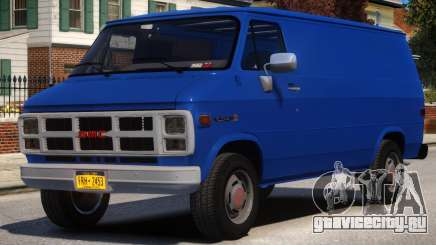 1983 GMC Vandura G-1500 V1 для GTA 4