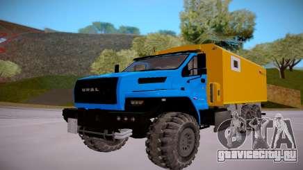 Ural Next 4320 Перевозка взрывчатых веществ для GTA San Andreas