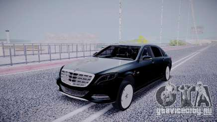 Mercedes-Benz S600 Maybach для GTA San Andreas
