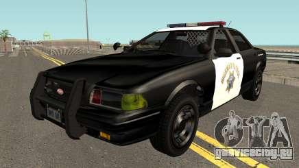 Vapid Stainer SAHP Police GTA V IVF для GTA San Andreas