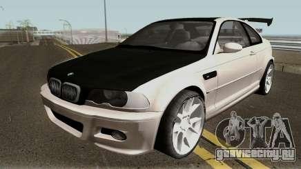 BMW M3 E46 HQ для GTA San Andreas