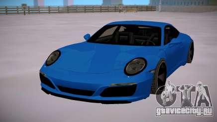 Porsche 911 Carrera S SA StyledLow Poly для GTA San Andreas