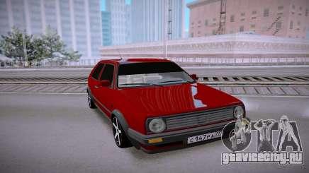 Volkswagen Golf II для GTA San Andreas