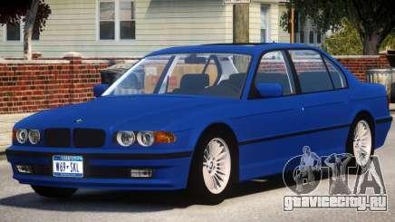 1998 BMW 750 E38 для GTA 4