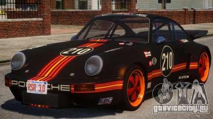 1974 Porsche 911 PJ1 для GTA 4