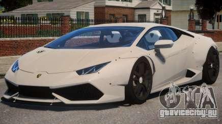 Lamborghini Huracan Liberty Walk для GTA 4