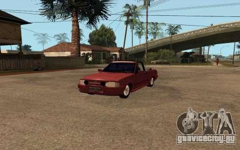 Ford Escort XR3 1992 Cabriolet для GTA San Andreas