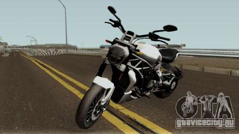Ducati X Diavel S 2018 для GTA San Andreas