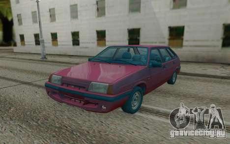 ВАЗ 2109 Красный Хэтчбэк для GTA San Andreas