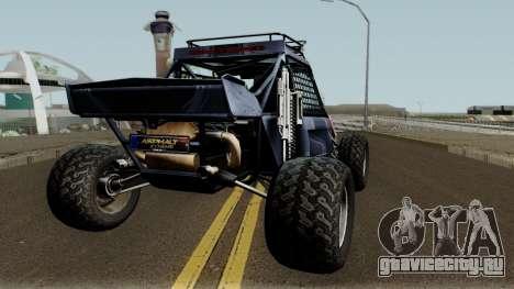Predator X-18 Intimidator для GTA San Andreas вид справа