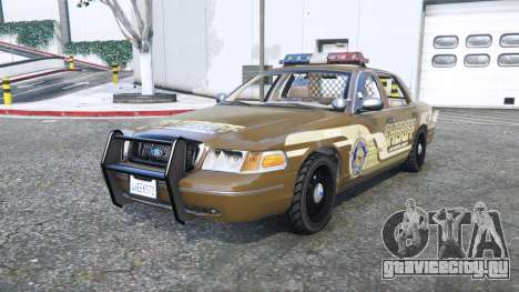 Ford Crown Victoria Sheriff pack [add-on] для GTA 5