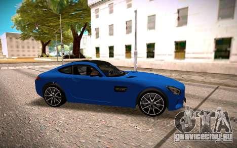 Mercedes-Benz GTS для GTA San Andreas вид слева
