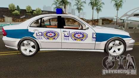 Mercedes Benz E500 Turkish Police Car San Fierro для GTA San Andreas