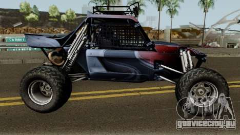 Predator X-18 Intimidator для GTA San Andreas вид сзади