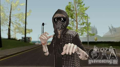 Wrench from Watch Dogs 2 для GTA San Andreas