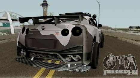 Nissan GT-R Tuning & OffRoad для GTA San Andreas