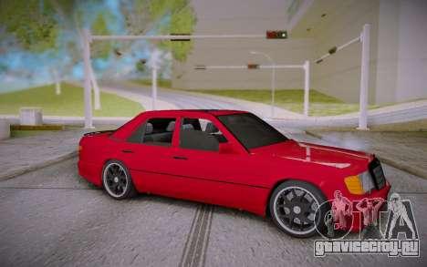 Mercedes-Benz E500 W124 Brabus для GTA San Andreas