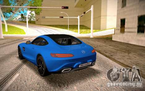 Mercedes-Benz GTS для GTA San Andreas вид справа