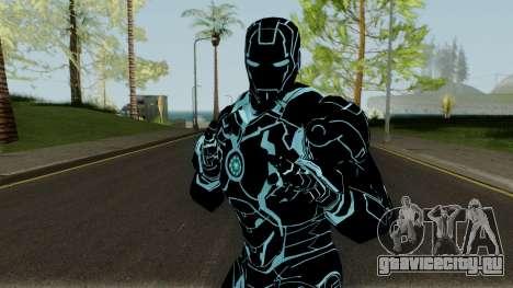 Ironman Mk4 Tron Legacy Armor для GTA San Andreas