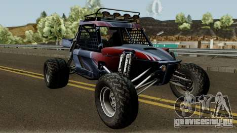 Predator X-18 Intimidator для GTA San Andreas вид изнутри