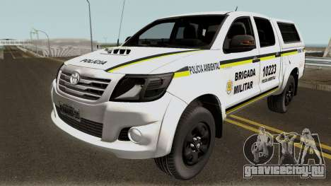 Toyota Hilux do Comando Ambiental для GTA San Andreas