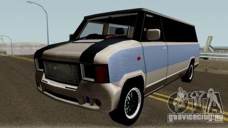 Modificated News Van для GTA San Andreas