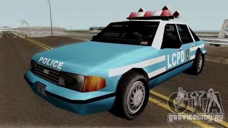 New Police LCPD Blue для GTA San Andreas