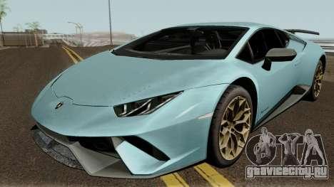 Lamborghini Huracan Perfomante 2017 для GTA San Andreas