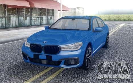 BMW M760Li для GTA San Andreas