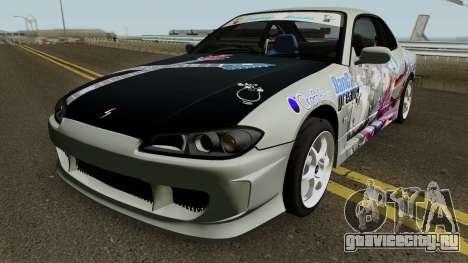 Nissan Silvia S15 Itasha Sayo and Lisa 2000 для GTA San Andreas