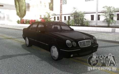 Mercedes-Benz W210 E220 2001 для GTA San Andreas
