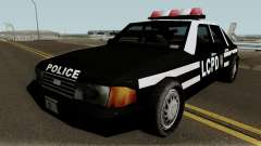 New Police LCPD Black для GTA San Andreas
