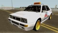 Lancia Delta Integrale HF - School Driving 1989 для GTA San Andreas