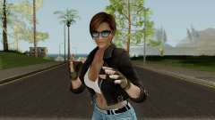 Lisa Hamilton (Casual Battle) From DOA5LR для GTA San Andreas