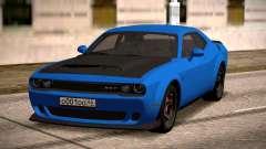2018 Dodge Challenger для GTA San Andreas