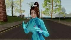 Mai Shiranui Zero Suit для GTA San Andreas