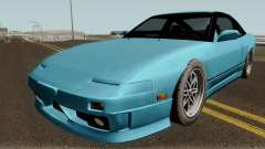 Nissan 180SX Type X HQ для GTA San Andreas