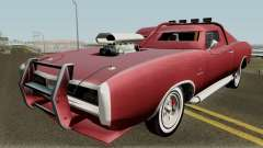 Dodge Charger RT FNF8 Edition (Dukes) 1968 для GTA San Andreas